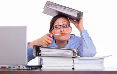 overworked