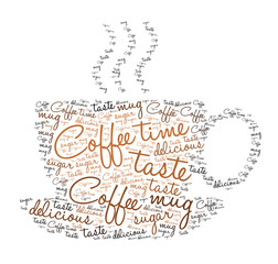 Coffee time - tag cloud