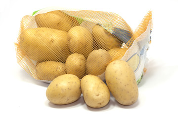 patate gialle in rete