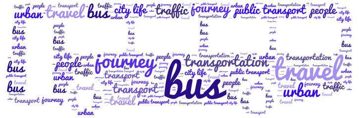 Bus - word cloud