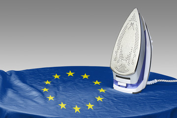 Preparing to smooth out the wrinkles of Flag-Europe