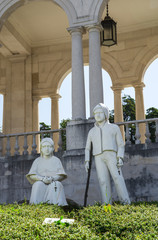 Statue of Francisco and Jacinta