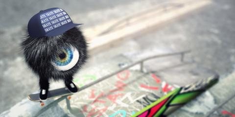 OneEye Skater - Skatepark version