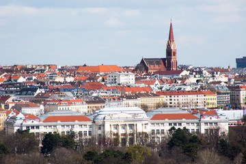 Vienna panorama view from Gloriette