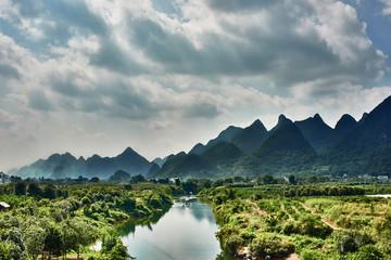 Yulong river Guilin Yangshuo Guangxi  China