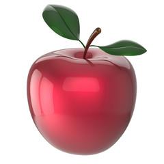 Red apple ripe fruit nutrition antioxidant fresh fruit