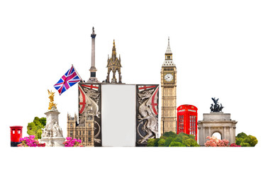 London. Tourist and business background