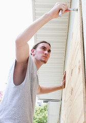 Disaster Ready - Plywood Windows