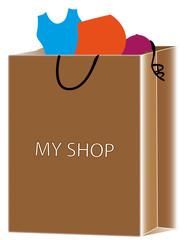 Sac shopping Ma boutique