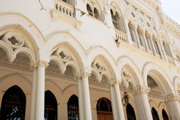 Damaged Vergara Palace from 2010 Earthquake - Vina Del Mar