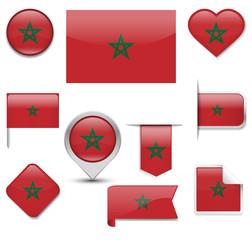 Morocco Flag Collection