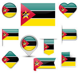 Mozambique Flag Collection