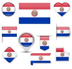Paraguay Flag Collection