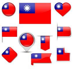 Taiwan Flag Collection