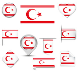Turkish Republic of Northern Cyprus Flag Collection