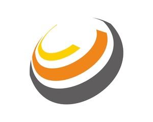 abstract circle c logo