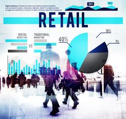 Retail Business Market Sale Shopping Commerce Concept