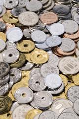 硬貨の集合