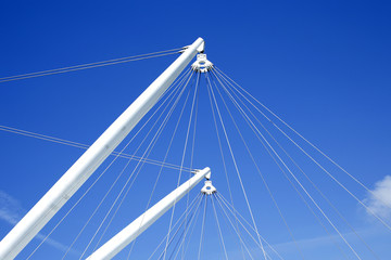 ship masts with rigging