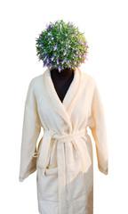 Human figure with flower head