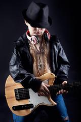 cooler Gitarrist