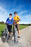 Mountainbike Paar