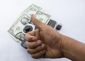 Thumb up, i like it dollar