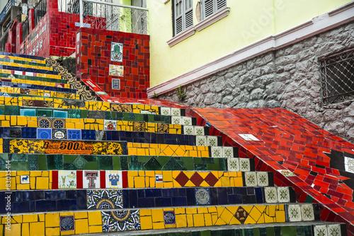 fototapeta na ścianę Escadaria Selaron, Rio de Janeiro, Brazylia