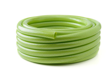 green rubber tube