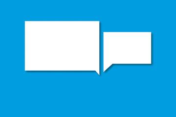 Sprechblasen als Symbol für Kommunikation