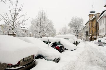 Snowstorm - Ljubljana
