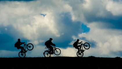 bisiklet ile gezi macerası