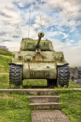 WWII M4 Sherman Tank