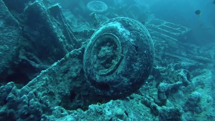 wreck SS Thistlegorm, Red Sea, Sharm el Sheikh