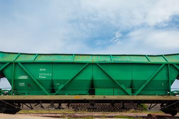 Trenes, ferrocarriles, vagón de mercancías