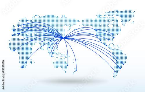 世界地図・ドット・グローバル ... : 世界地図 無料 ダウンロード : 世界地図