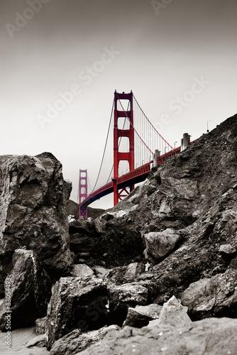 Obraz na Plexi Golden Gate Bridge