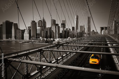 Foto op Canvas New York TAXI Manhattan