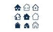 Simple House Icon Set