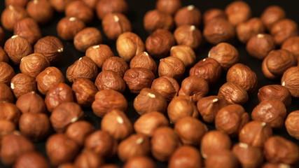 Tracking over the Peeled hazelnut kernels
