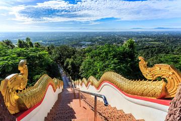 Staircase at Wat Phra That Doi Kham