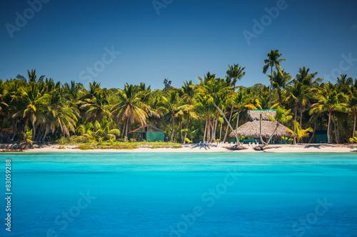 Naklejka Caribbean wild beach, Punta Cana