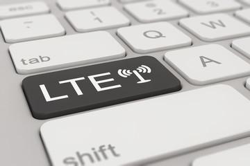 keyboard - LTE - black
