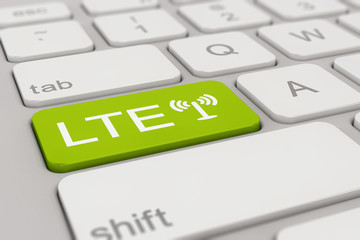 keyboard - LTE - green