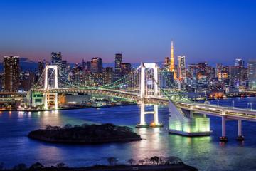Tokyo Rainbow Bridge und Tokyo Tower