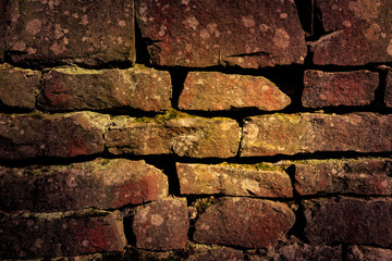 abstract background with old brickwork