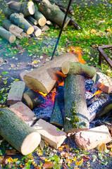 Am Lagerfeuer, Feuer und Flamme