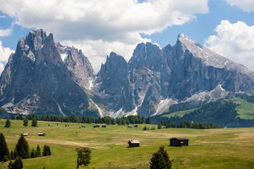Sasso lungo e sasso piatto Alpe di siusi
