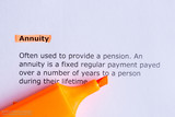 annuity poster