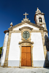 Facade of the Church of Santa Marinha